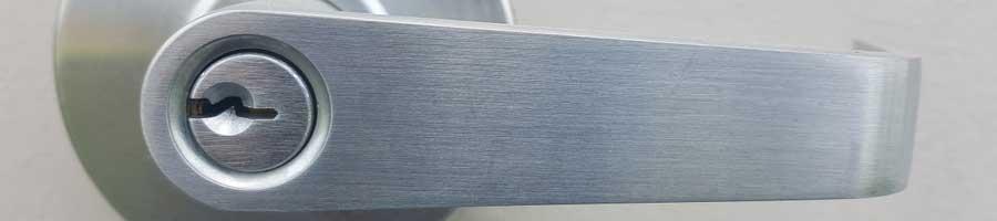 Commercial door handle lock