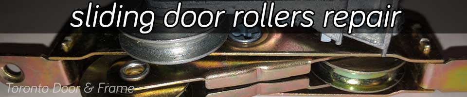 Sliding patio door rollers