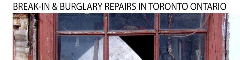 Break-in & Burglary Repairman in Toronto